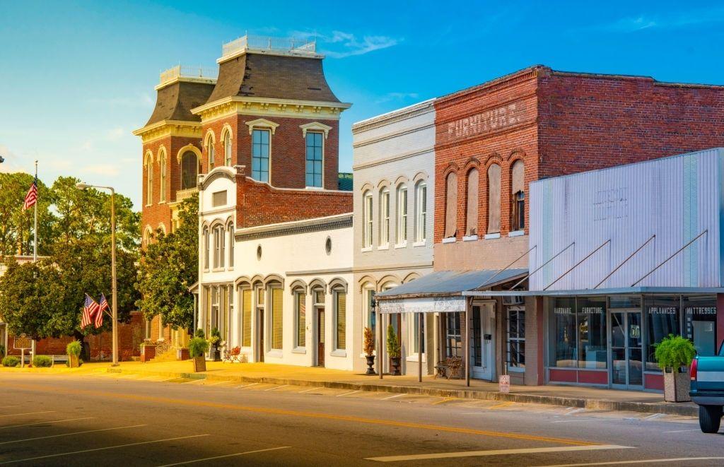 Historical place Savannah Historic District