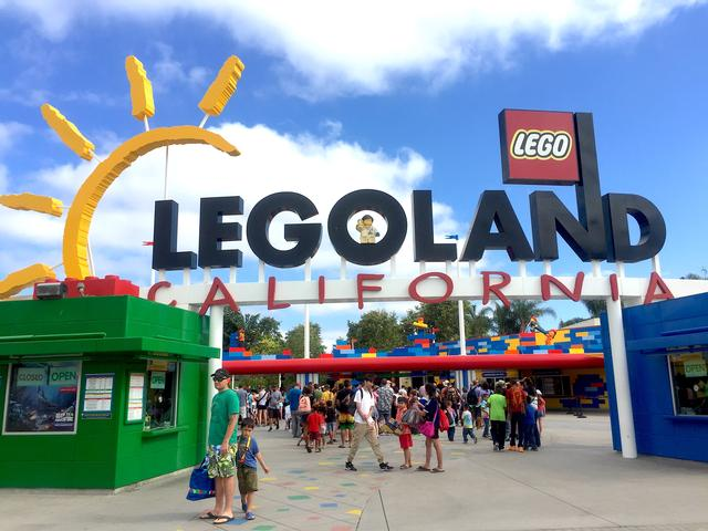 Enjoy With Your Families in Legoland California
