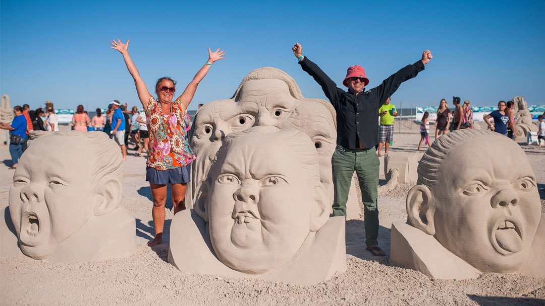 Adventure filled vacations in Texas Sand Fest