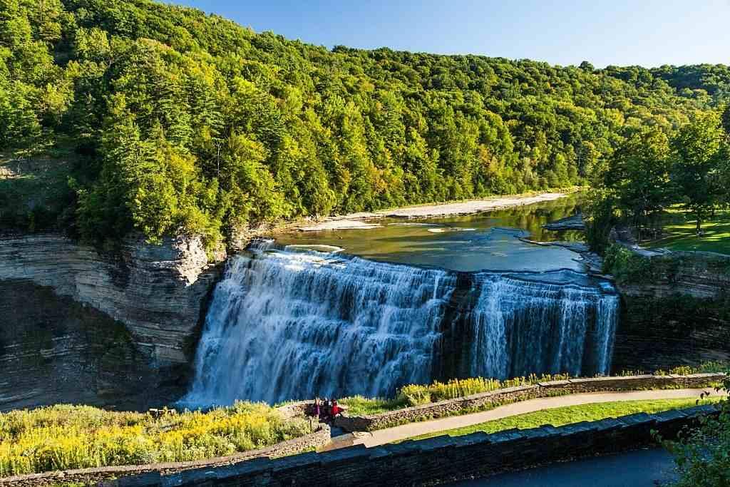 Letchworth Middle Falls - travelistia
